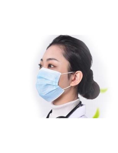 Masques médicaux 3 plis EN14683 TYPE IIR